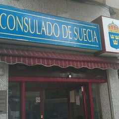 Photo taken at Consulado de Suecia by Nicky J. on 4/26/2012