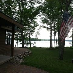 Photo taken at Pickerel lake by Chris F. on 6/8/2012