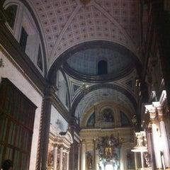 Photo taken at Templo Santa Catalina de Siena by Maribélula on 4/6/2012