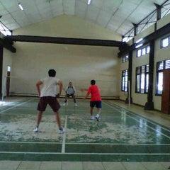 Photo taken at Badminton Club by Yuli@ H. on 5/17/2012
