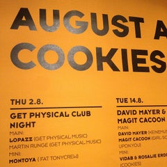 Photo taken at Cookies by Manuel MANTU O. on 8/2/2012