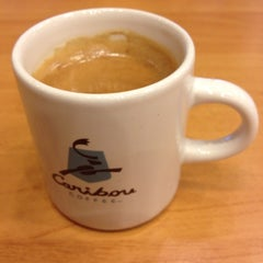 Photo taken at Caribou Coffee by Andiordonez on 6/2/2012
