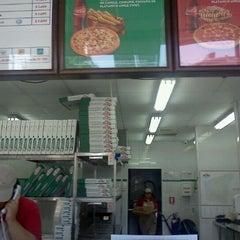 Photo taken at Papa John's Pizza by Gonzalo V. on 2/5/2012