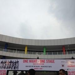 Photo taken at Mata Elang International Stadium (MEIS) by Maximillian N. on 6/1/2012