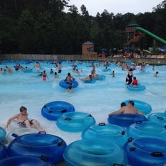 Photo taken at Dollywood's Splash Country by Calvin B. on 7/17/2012