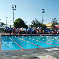 Photo taken at Roosevelt HS Pool by Daniel R. on 7/21/2012