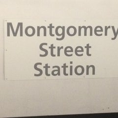 Photo taken at Montgomery St. BART Station by Brittany M. on 2/19/2012