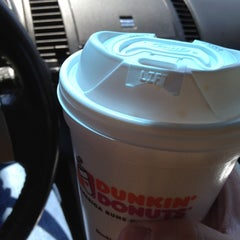 Photo taken at Dunkin' Donuts by PrintKEG .. on 4/12/2012