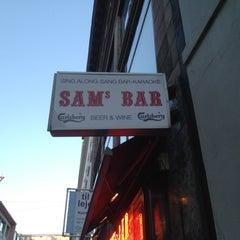 Photo taken at Sam's Bar by Yoav S. on 7/26/2012