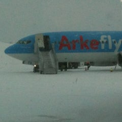 Photo taken at Kittilä Airport (KTT) by Leontien N. on 2/19/2012