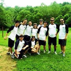 Photo taken at Cherokee Park Frisbee/Rugby Field by Leigha K. on 5/9/2012