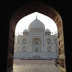 Photo taken at Taj Mahal | ताज महल | تاج محل by Brian C. on 6/3/2012