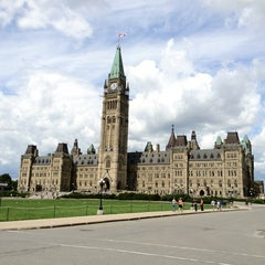 Photo taken at Parliament Hill by Michael O. on 8/19/2012