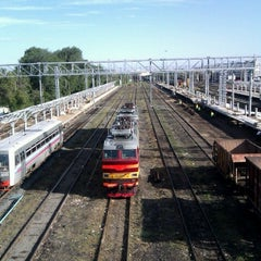 Photo taken at Ж/Д вокзал Казань-1 / Kazan Train Station by Alexander O. on 7/22/2012