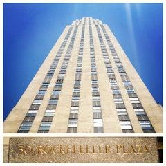 Photo taken at 30 Rockefeller Plaza by Aman G. on 7/6/2012