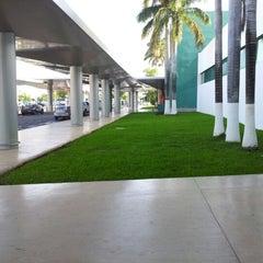 Photo taken at Aeropuerto Internacional de Mérida (MID) by AlberTux S. on 6/18/2012