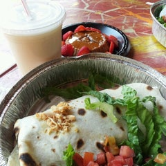 Photo taken at Cafe Rio Mexican Grill by Amber G. on 8/13/2012