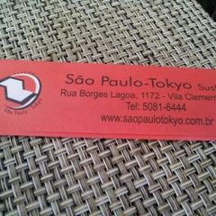 Photo taken at São Paulo - Tokyo Sushibar by Marcio G. on 7/13/2012