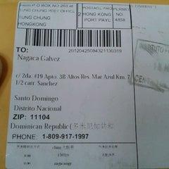 Photo taken at Instituto Postal Dominicano (INPOSDOM) by Nagaca G. on 5/23/2012