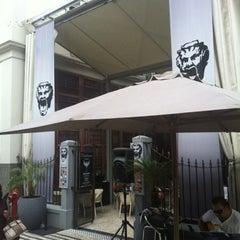 Photo taken at Café do Teatro by Alex Z. on 7/24/2012