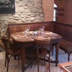 Photo taken at Café du Marché by Manal A. on 3/18/2012