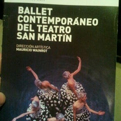 Photo taken at Teatro General San Martín by Gonzalo A. on 7/29/2012