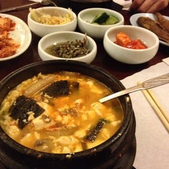 Photo taken at My Tofu House by Marta W. on 4/16/2012
