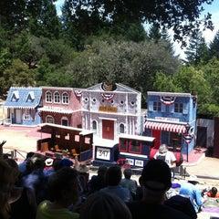 Photo taken at Mt. Tamalpais Amphitheater by Kenny S. on 6/16/2012