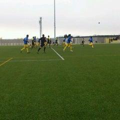 Photo taken at Camp De Futbol De St. Pere Pescador by Jaume S. on 2/5/2012