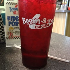 Photo taken at Boomarang Diner by Randy C. on 2/23/2012