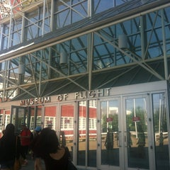 Photo taken at The Museum of Flight by Linh T. on 8/16/2012