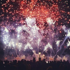 Photo taken at IllumiNations: Reflections of Earth by Daniel W. on 4/25/2012