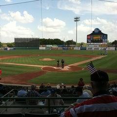 Photo taken at Nelson W. Wolff Municipal Stadium by Monica Z M. on 7/4/2012