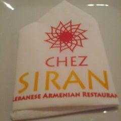 Photo taken at Chez Siran   دارة سيران by Aboaziz on 4/15/2012