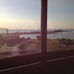 Photo taken at Radisson Hotel Duluth-Harborview by Jack S. on 9/1/2012