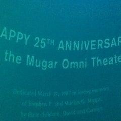 Photo taken at Mugar Omni IMAX Theatre by Jacob on 7/25/2012