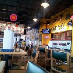 Photo taken at Fuzzy's Taco Shop by Fabiana W. on 2/16/2012