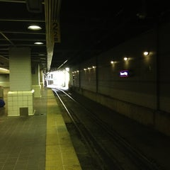 Photo taken at RTA Tower City - Public Square Rapid Station by Ahmed K. on 7/17/2012