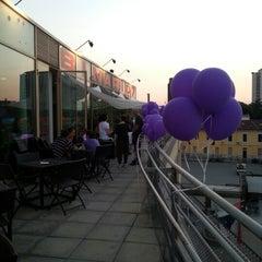 Photo taken at Lounge Binario 7 by Francesca D. on 7/26/2012