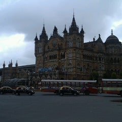 Photo taken at Chhatrapati Shivaji Terminus by sandesh v. on 9/9/2012