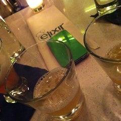 Photo taken at Elixir Lounge by Lisa M. on 4/21/2012