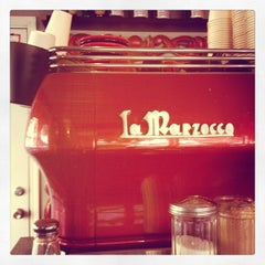 Photo taken at La Stazione Coffee & Wine Bar by Pete P. on 3/7/2012