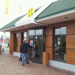 Photo taken at McDonald's by Mārtiņš G. on 3/11/2012