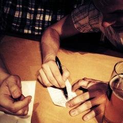 Photo taken at Gordon Biersch Brewery Restaurant by Jon P. on 4/20/2012