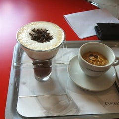 Photo taken at espressamente illy by Chihiro K. on 8/29/2012