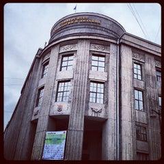 Photo taken at СПГУТД (Санкт-Петербургский государственный университет технологии и дизайна) by Vladimir P. on 4/21/2012