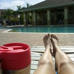 Photo taken at Province Park Pool by Abby on 2/4/2012