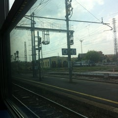 Photo taken at Stazione Chivasso by Alessandra on 7/10/2012