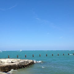 Photo taken at Fullerton Beach by arielle h. on 7/28/2012