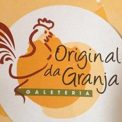 Photo taken at Original da Granja Galeteria by João M. on 7/16/2012